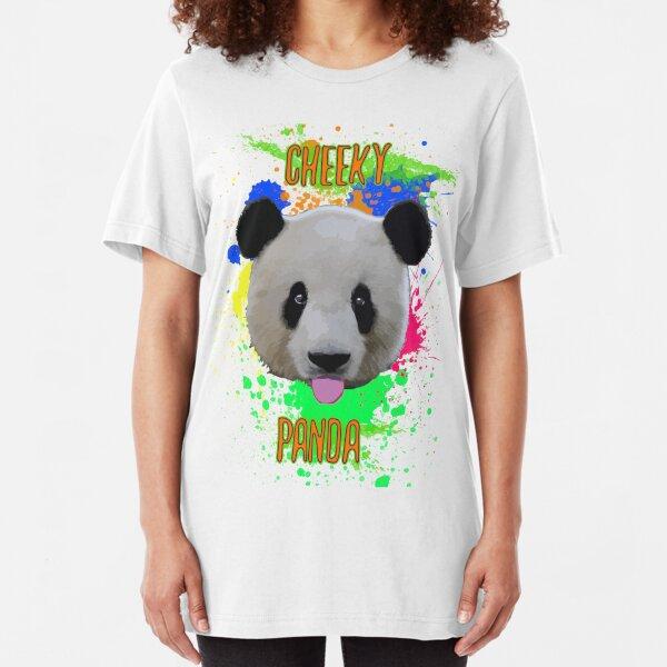Cheeky Panda Slim Fit T-Shirt