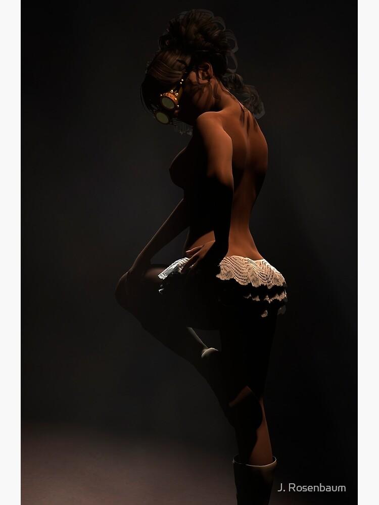 Chantilly - Steampunk Burlesque Render de Jennie