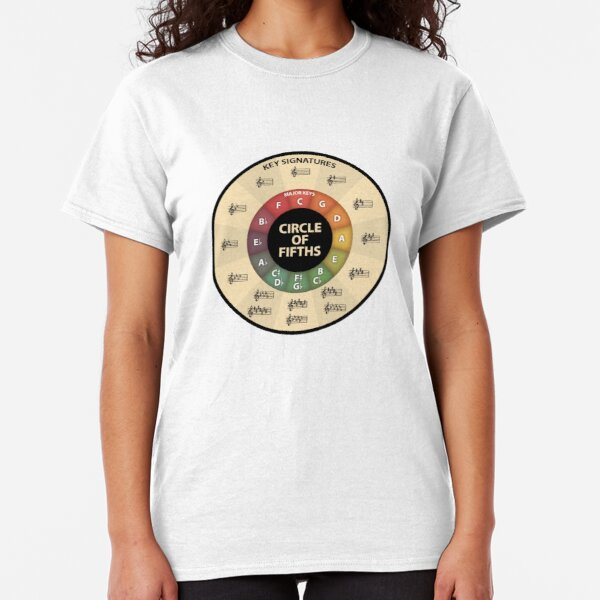 Circle of Fifths Classic T-Shirt