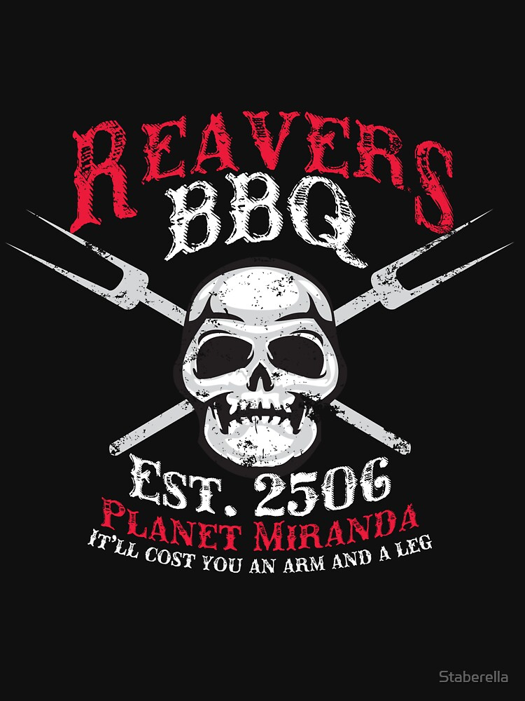 Reaver's BBQ - It'll will cost you an arm and a leg. by Staberella