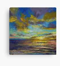 Sunset Key Largo Canvas Print