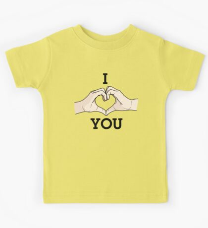 I Heart Hands You Kids Clothes