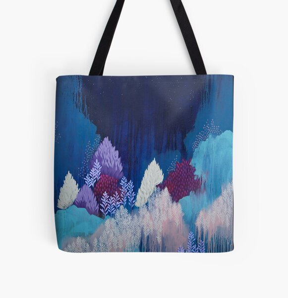 Still The Night All Over Print Tote Bag