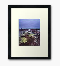 """""""Red Earth"""" ∞ Haycock Point, NSW - Australia Framed Print"""