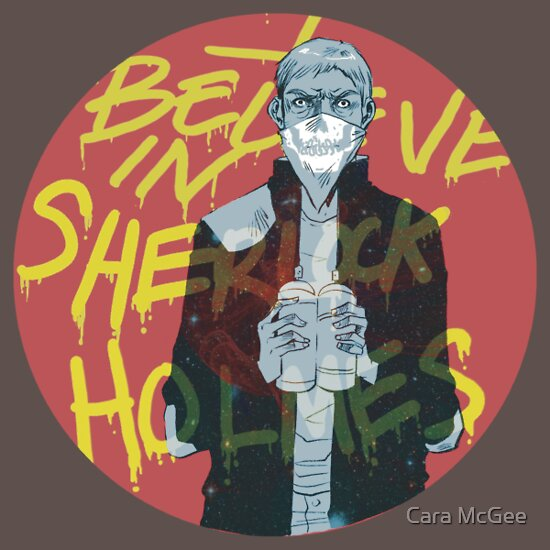 TShirtGifter presents: I Believe In Sherlock