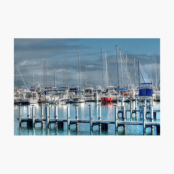A Safe Harbour Photographic Print