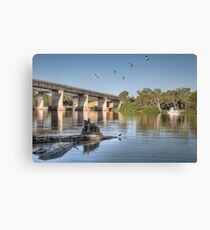 Blanchetown - Murray River Canvas Print