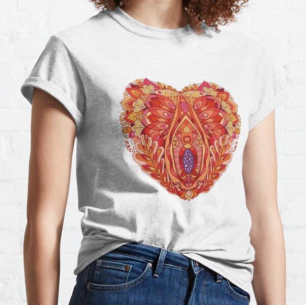 Camiseta Mandala Vagina Camiseta clásica