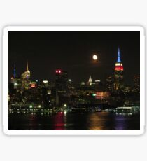 New York Skylines Sticker