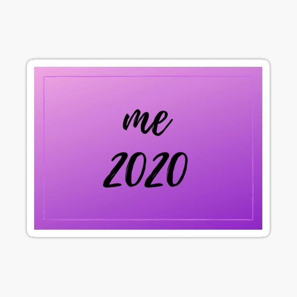 Me 2020 Purple Sticker