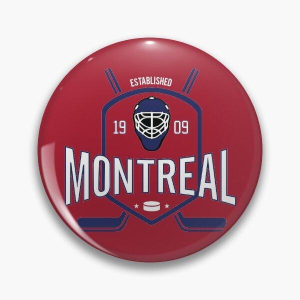 Montreal Canadiens Hockey Design Pin