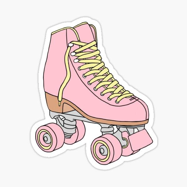 Roller Skate sticker-Pink Lemonade Sticker