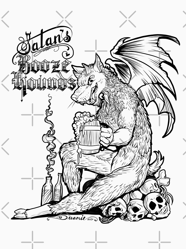 Satan's Booze Hounds by dreamie09