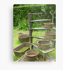 Garden Stairs Going Nowhere Metal Print 5800 English Country Canvas 4880