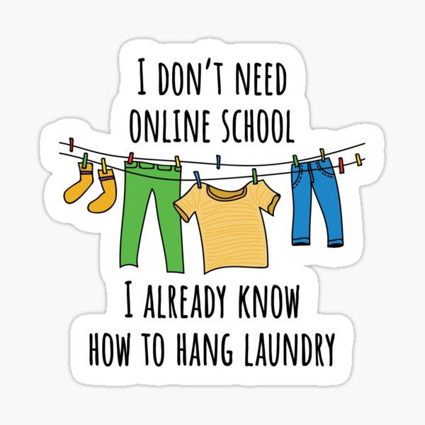 Online School. Sticker