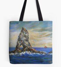 Colombretes Island Tote Bag