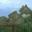 Cadgwith Rooftops by stevemitchell
