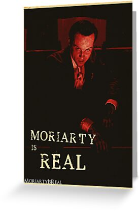 Moriarty Is Real Poster 1 by KitsuneDesigns