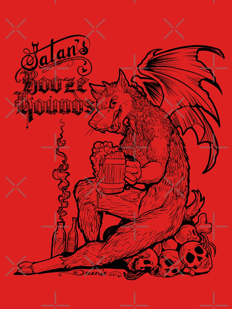 Satan's Booze Hounds RED by dreamie09