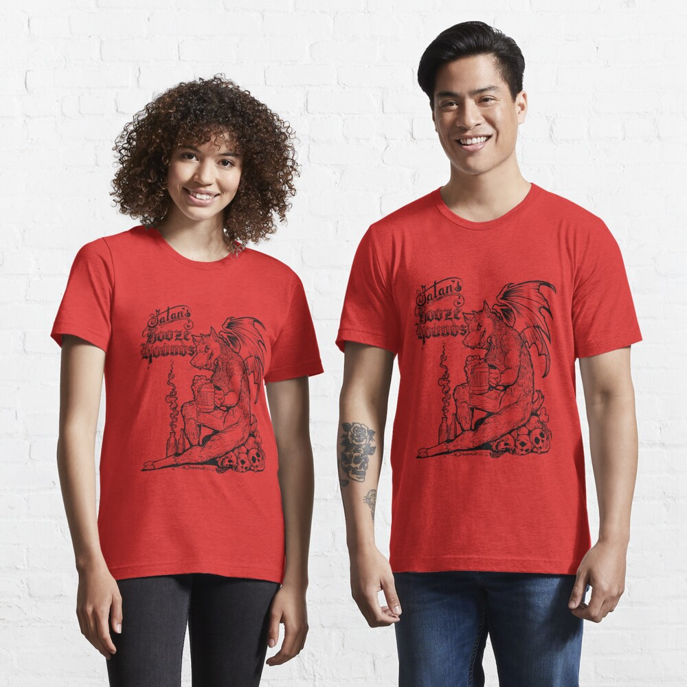 Satan's Booze Hounds RED Essential T-Shirt