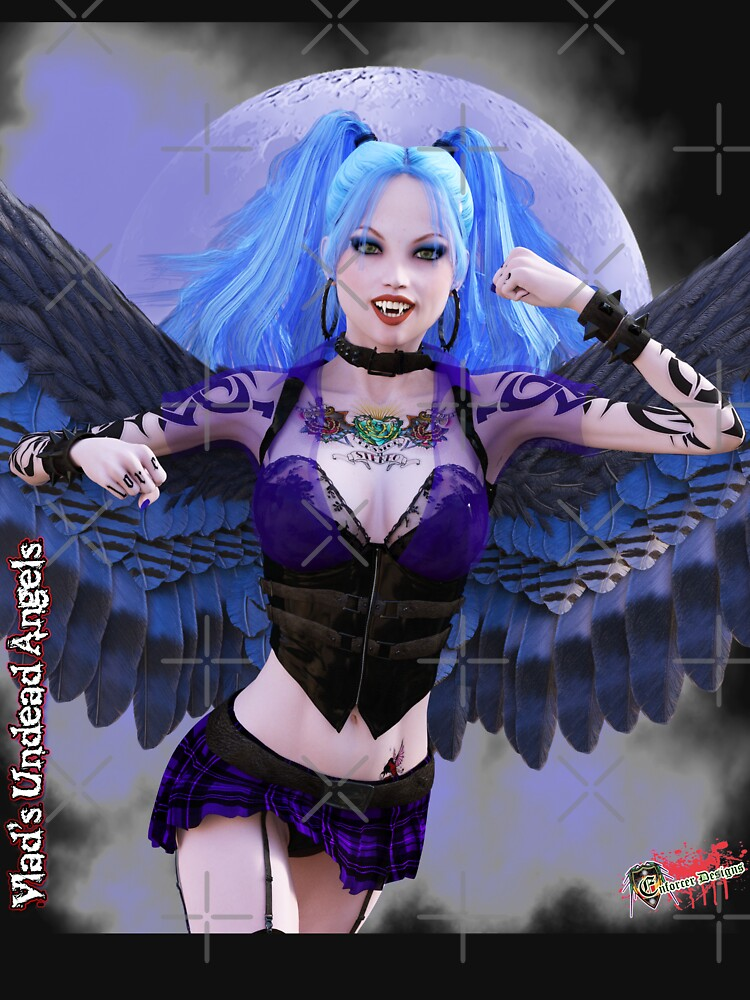 Undead Angels By Moonlight: Vampire Ashley by EnforcerDesigns