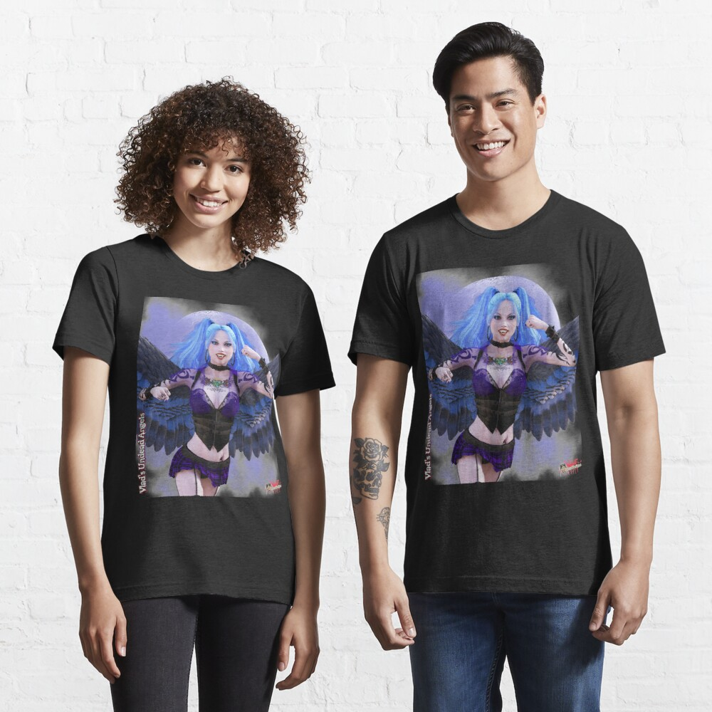 Undead Angels By Moonlight: Vampire Ashley Essential T-Shirt