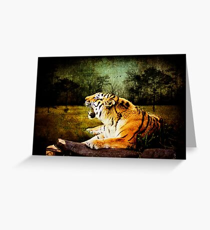 Cry of the Wild Greeting Card