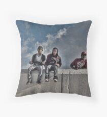 Chillin' Throw Pillow