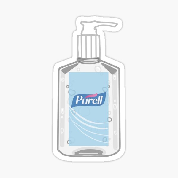 Purell handsanitizer Sticker
