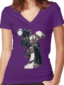 megatron! Women's Fitted V-Neck T-Shirt