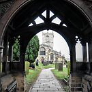 The Parish Church of St. Mary, Sheffield, England. by Tigersoul