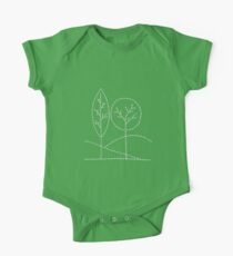 Handstitched trees Kids Clothes