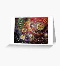The Cosmos Greeting Card