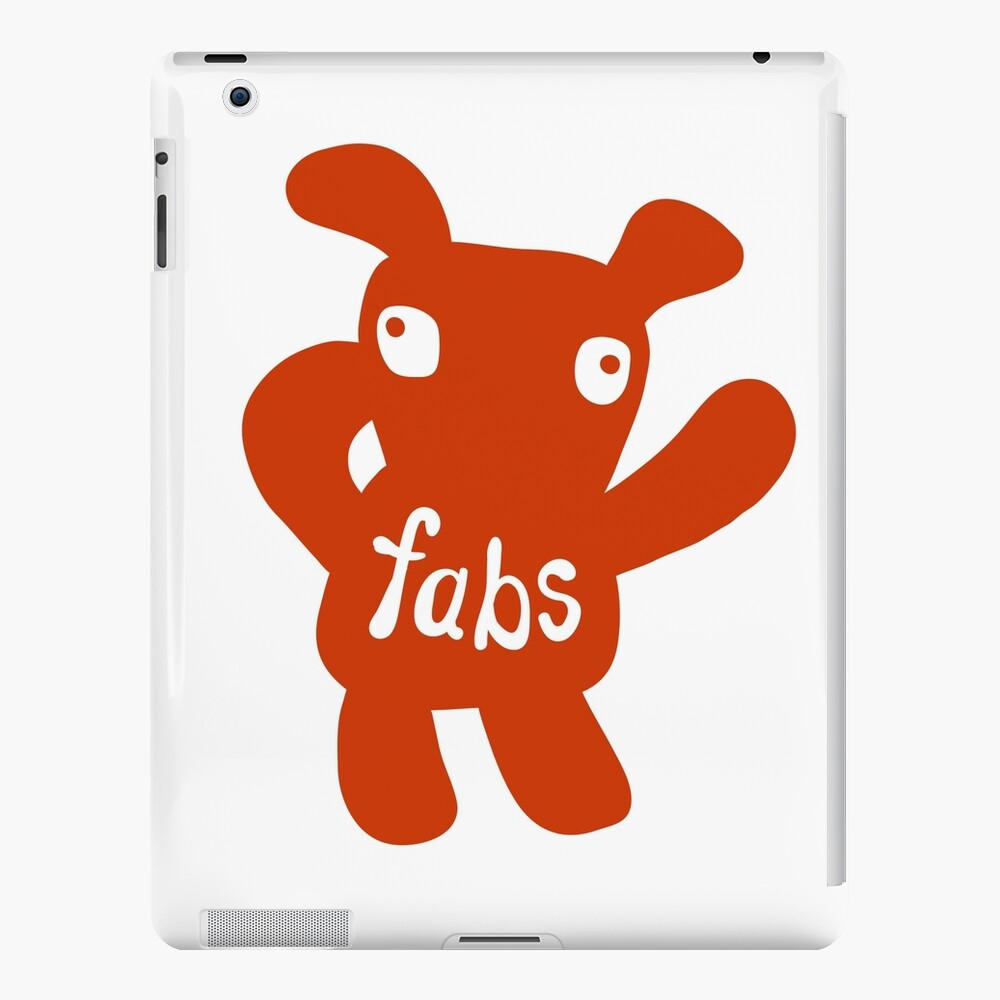 Fabs iPad Case & Skin