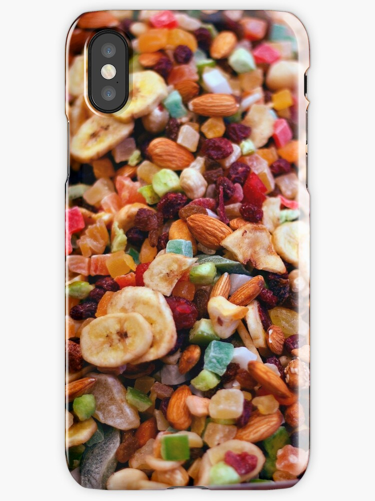 Dried fruit iPhone case by Esther  Moliné