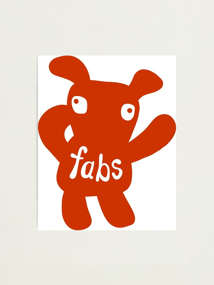 Alternate view of Fabs Photographic Print