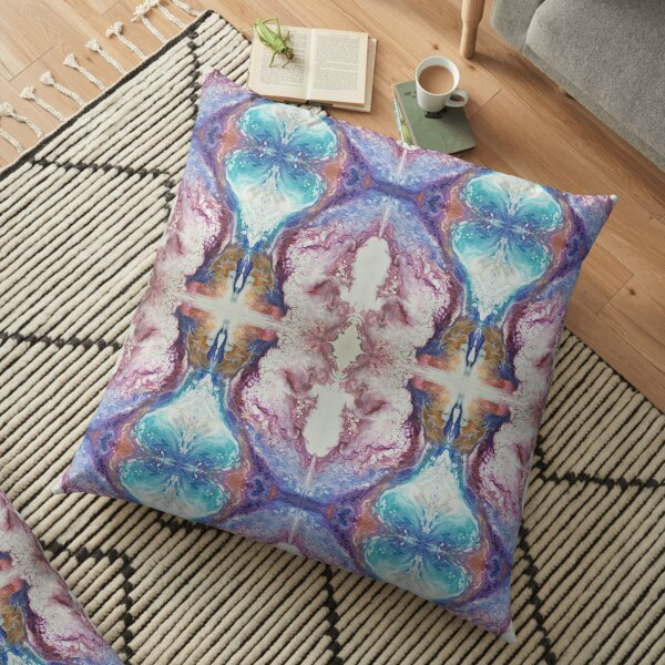 Prayer Kaleidoscope Floor Pillow