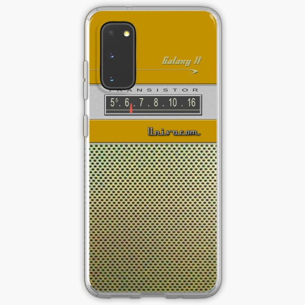 Transistor Radio - Galaxy II Gold Samsung Galaxy Soft Case