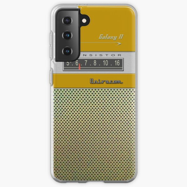Transistor Radio - Galaxy II Gold Samsung Galaxy Soft Case