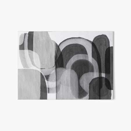 Grayble Art Board Print