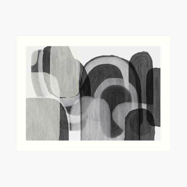 Grayble Art Print
