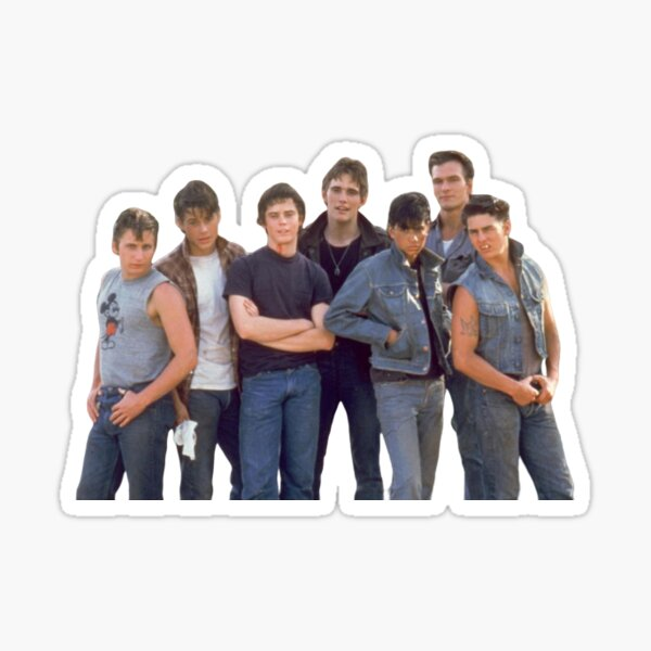 The  Outsiders Sticker