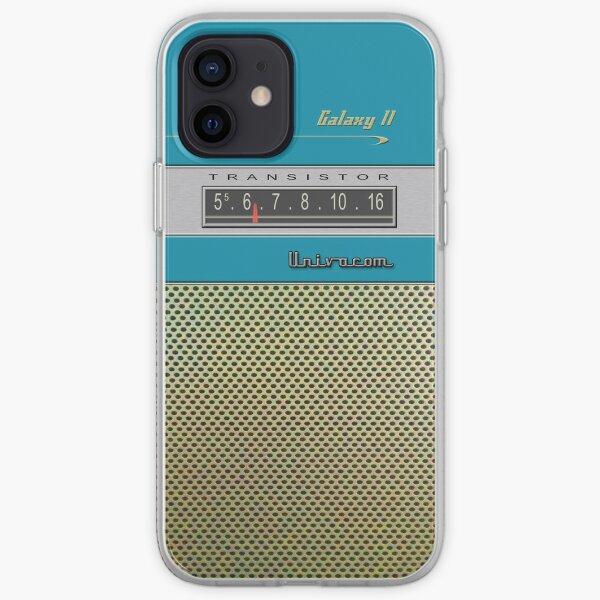 Transistor Radio - Galaxy II Blue iPhone Soft Case