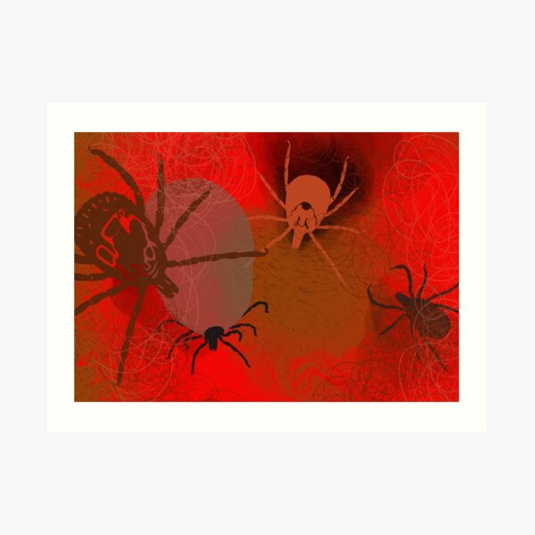 Ticks Art Print