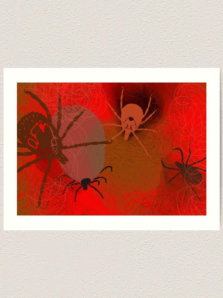 Alternate view of Ticks Art Print