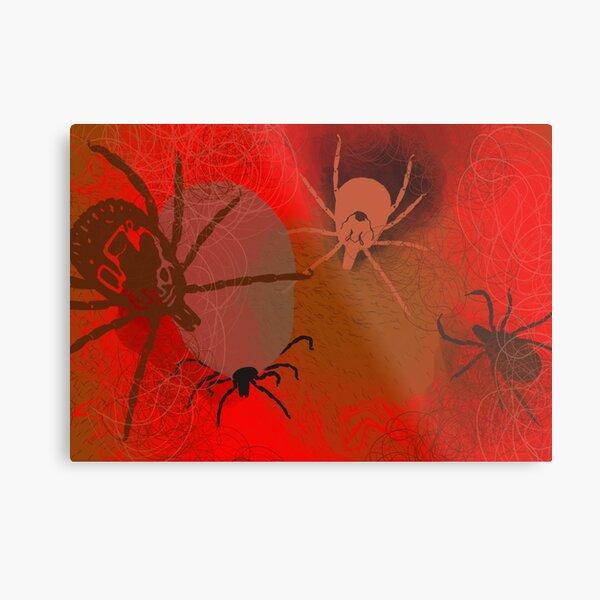 Ticks Metal Print