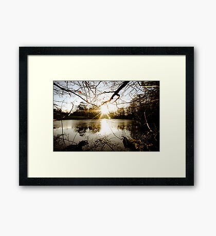 Which, As They Kiss, Consume Framed Print