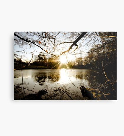Which, As They Kiss, Consume Metal Print