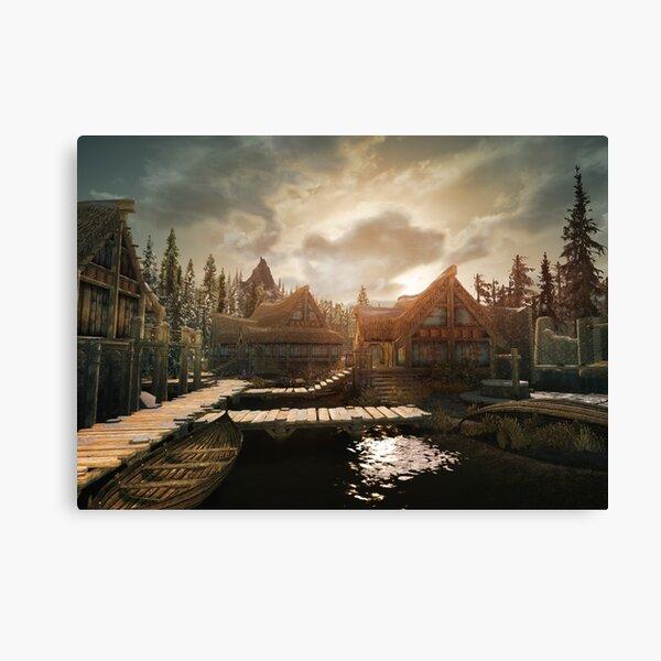 Skyrim- Morthal Canvas Print