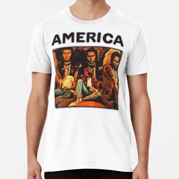 Banda de 1971 de América Camiseta premium